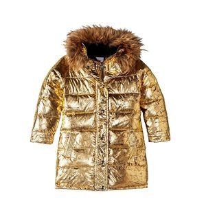 Appaman: long Down Coat Gold